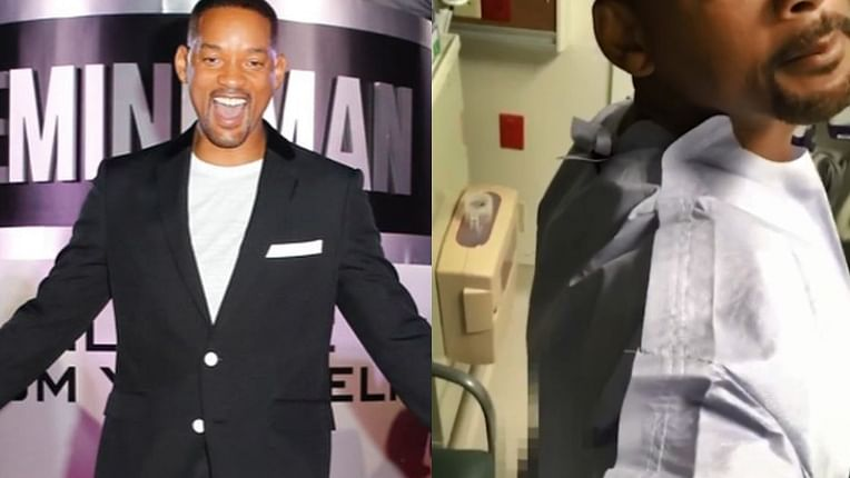 Will Smith shows his bare bottom on Instagram to get 50 million followers