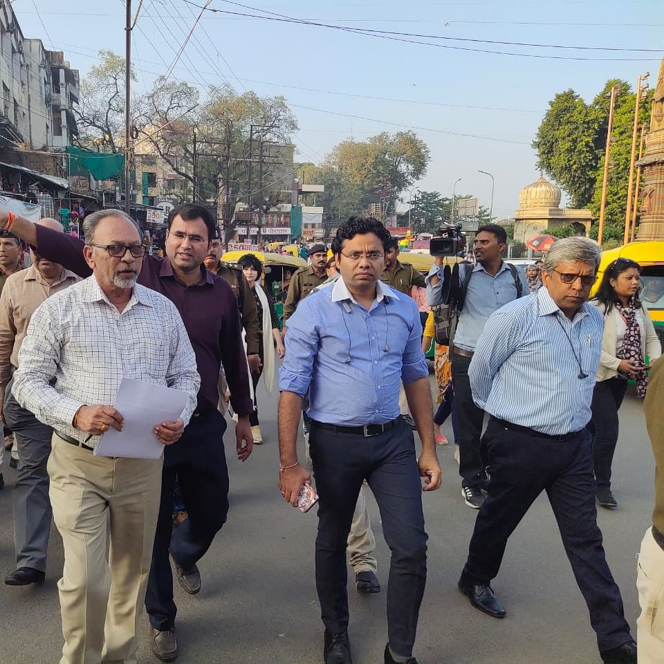 Indore traffic and parking system will be better: DM Lokesh Kumar Jatav