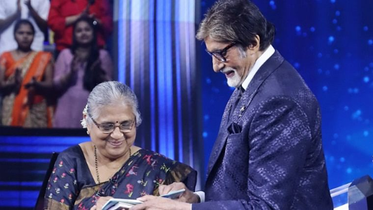 KBC 11: Sudha Murthy reveals, she was the only girl studying engineering with 599 boys
