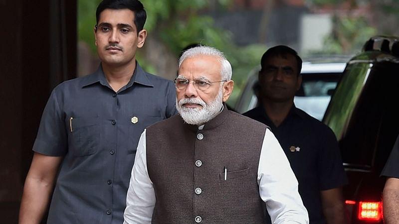 Congress delaying Ram temple construction, says PM Modi