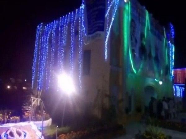 Nankana Sahib in Pakistan illuminated ahead of Guru Nanak Dev's 550th birth anniversary