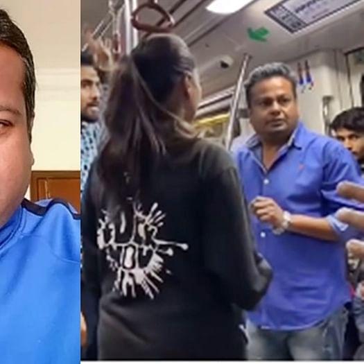 Watch: Deepak Kalal seeks revenge after getting slapped in Delhi metro