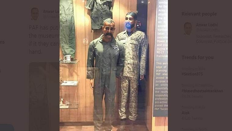 'Arrange cup of fantastic tea': Pak Journalist on Air Force Commander Abhinandan's mannequin in war museum