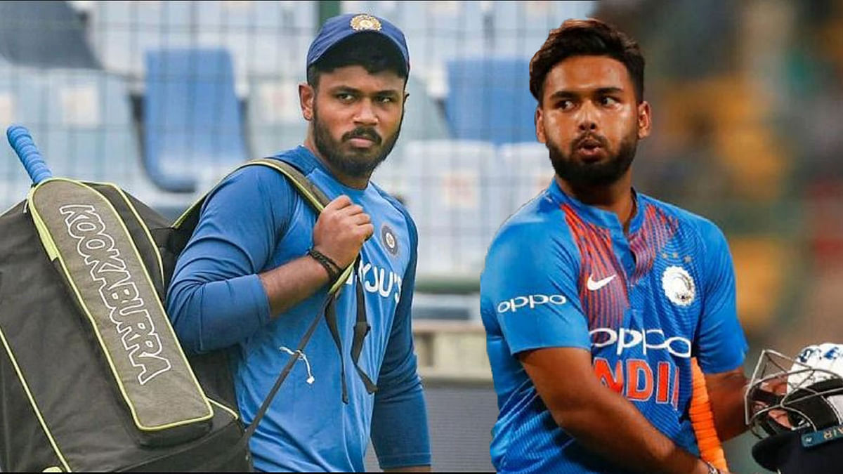 'Rishabh babysits Dhoni's daughter': Fans mock Pant's selection over Sanju Samson