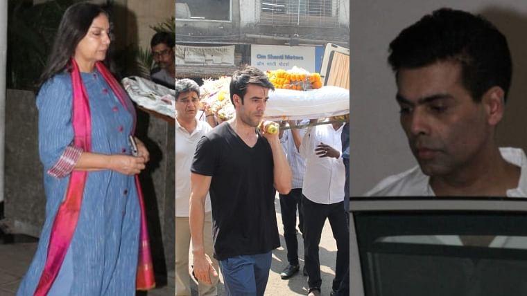 Manish Malhotra's father passes away; Karan Johar, Shabana Azmi arrive at designer's house to offer condolences