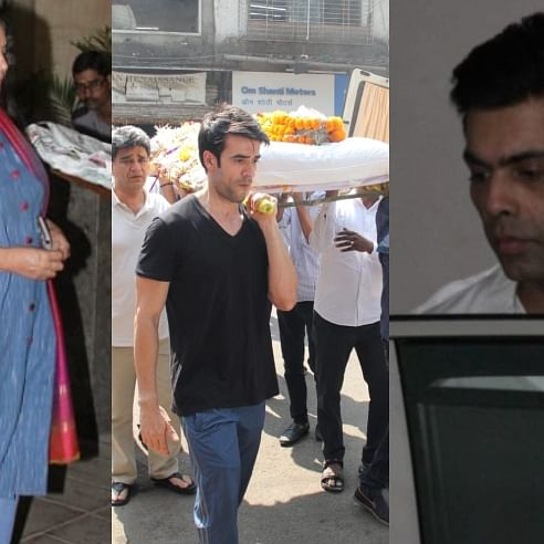 Manish Malhotra's father passes away; Karan Johar, Shabana Azmi arrive at designer's house to offer condolences