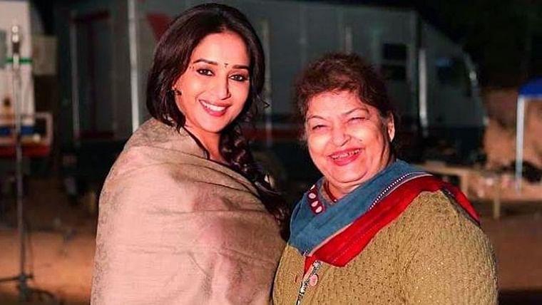 Madhuri Dixit pens a heartfelt note on her 'Guru' Saroj Khan's birthday
