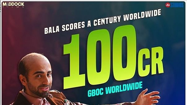Ayushmann Khurrana thanks fans as Bala mints Rs 100 crore globally