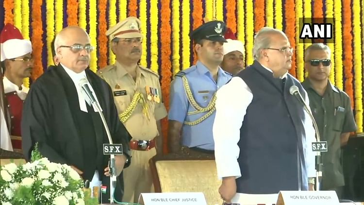 Former Governor of Jammu and Kashmir Satya Pal Malik was on Sunday sworn-in as Governor of Goa, by Chief Justice of the Bombay High Court Pradeep Nandrajog in a formal ceremony at Raj Bhavan near Panaji.