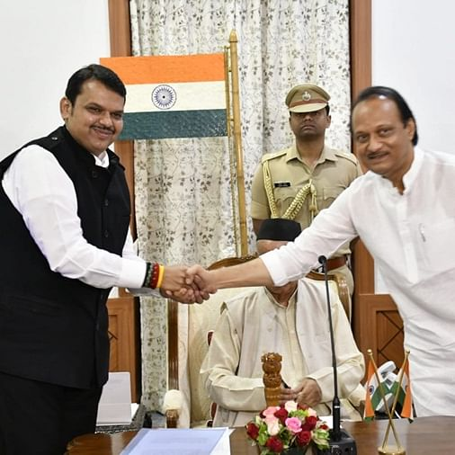 Maha Twist: Ajit Pawar meets Fadnavis; CMO says they discussed farmers' issues