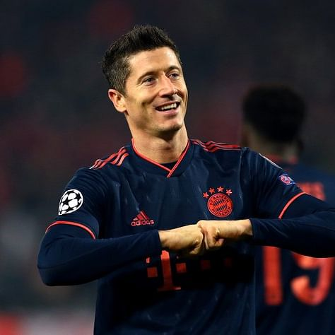 Robert Lewandowski eyes top-scorer glory in Champions League