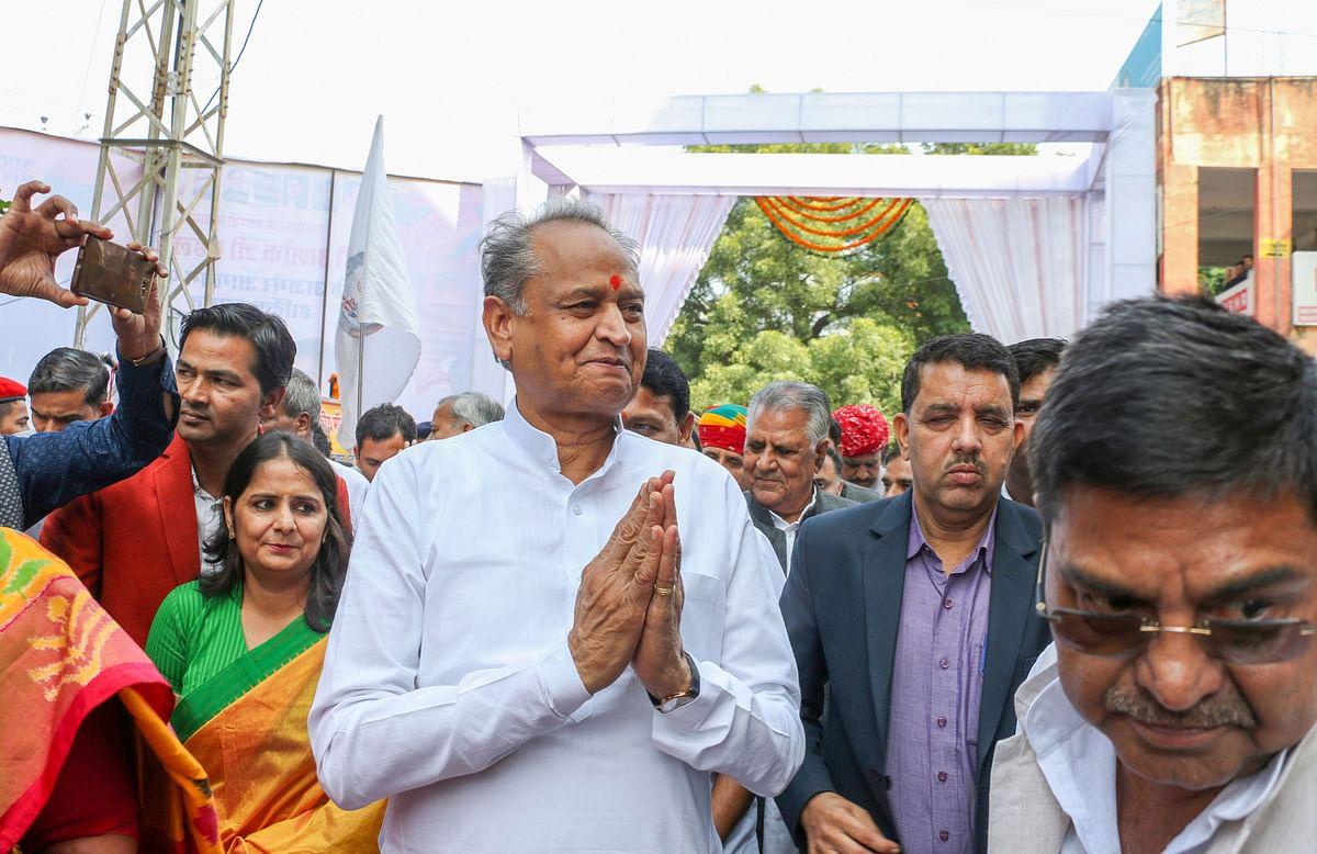 Rajasthan CM Ashok Gehlot criticises BJP's hatred for Jawaharlal Nehru