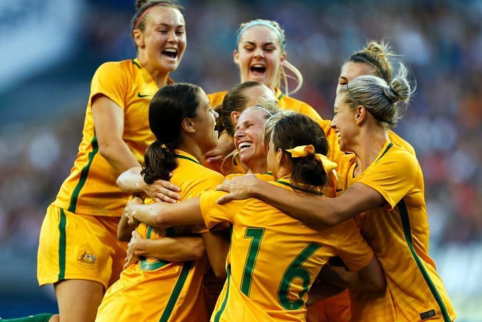 For the first time Australia women's football team to get pay parity with men