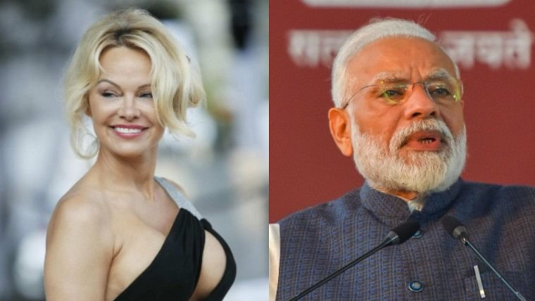 Former Playmate Pamela Anderson has a very special request for PM Modi