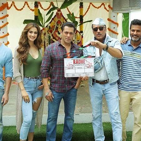 Salman Khan, Disha Patani starrer 'Radhe' goes on floors