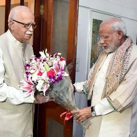 'Toiled for decades to give shape, strength to BJP': PM Modi wishes LK Advani on 92nd birthday