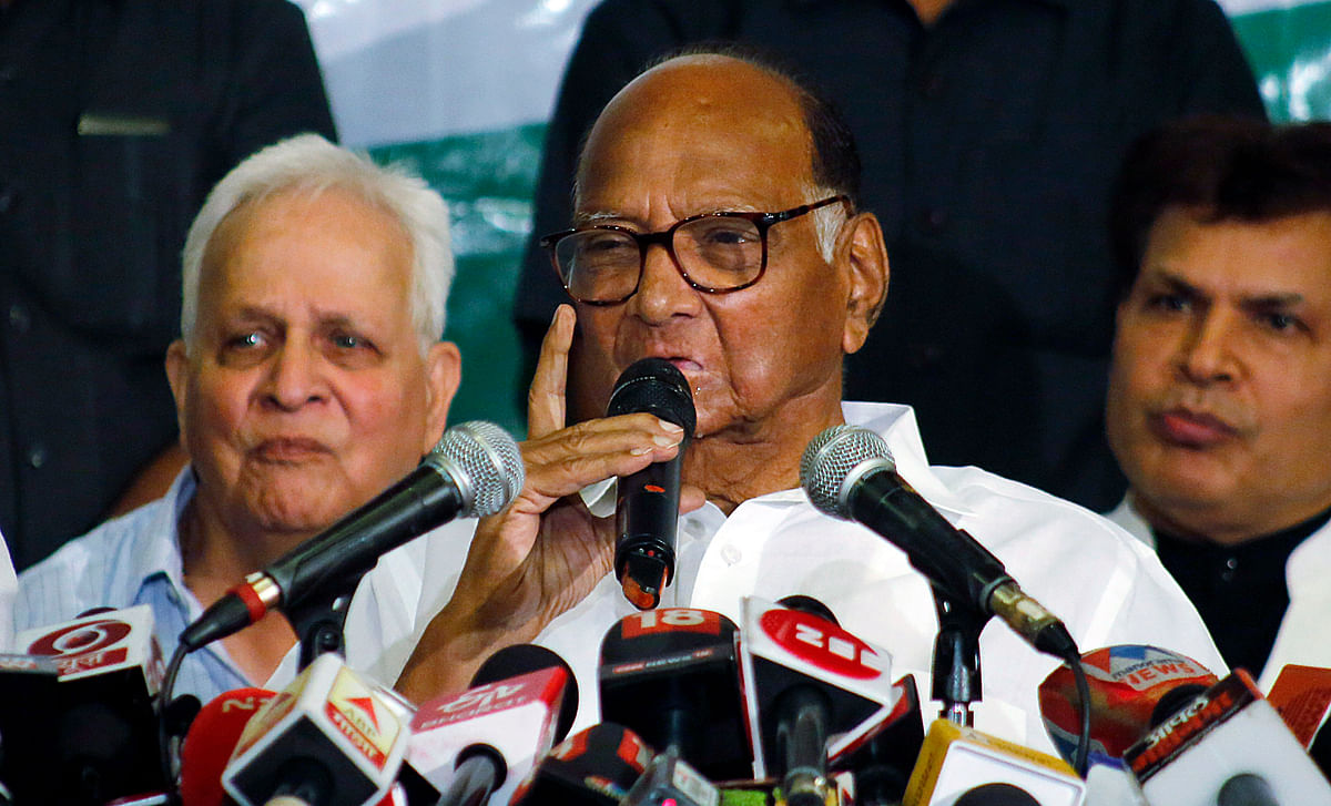 Don't know how he got 170 figure: Sharad Pawar mocks Sanjay Raut's 170 MLAs boast