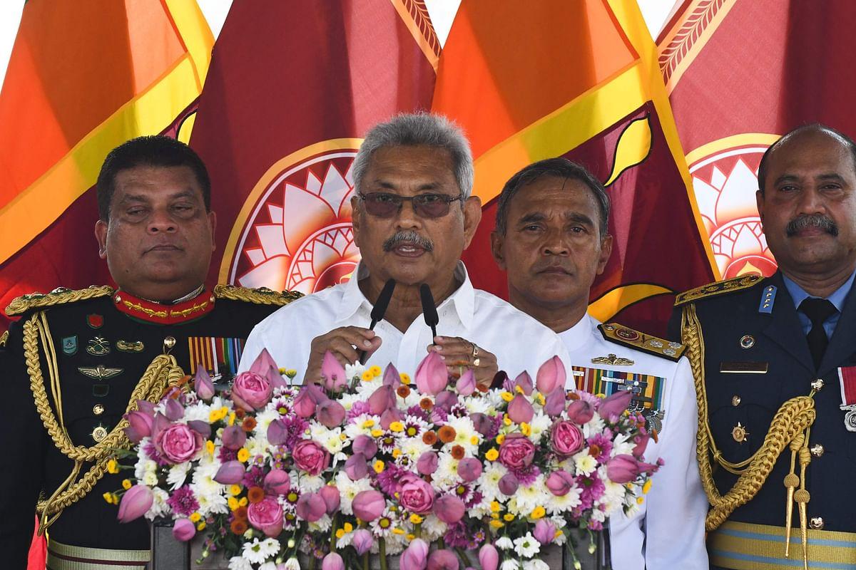 Gotabaya Rajapaksa sworn in as President of Sri Lanka