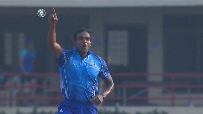 Abhimanyu Mithun takes 5 wickets in an over as Karnataka thrash Haryana
