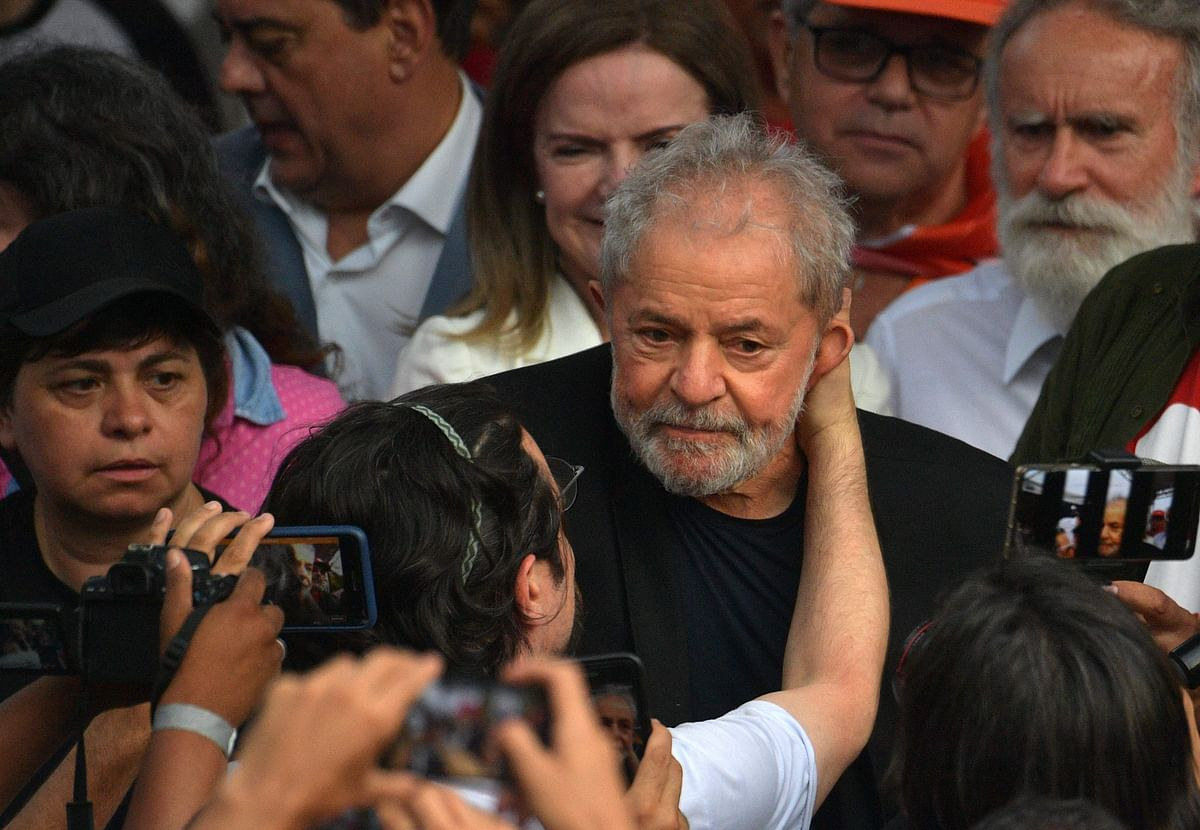 Brazil's ex-Prez Lula free from prison after Supreme Court ruling