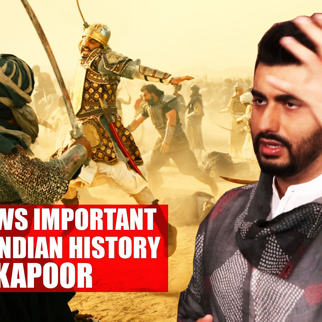 'Panipat' shows important 100 years of Indian history: Arjun Kapoor