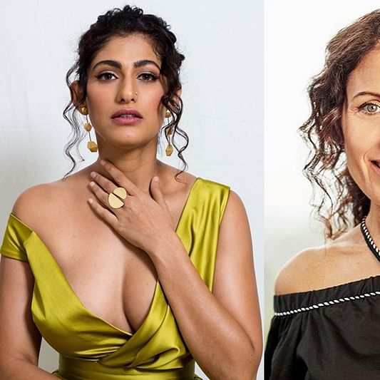 Kubbra Sait finds her doppelganger in 'House' actress Lisa Edelstein, check out their hilarious Twitter banter