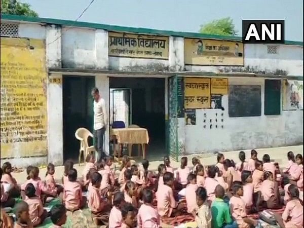Mid Day meal: Children served 1 litre milk diluted in 1 bucket water in UP's Sonbhadra