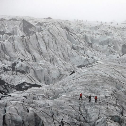 Sad to see it: Iceland students on reality of shrinking glacier