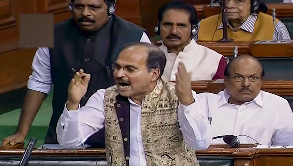 'From make in India' to rape in India': Adhir Ranjan Chowdhury takes a jibe at govt in Lok Sabha
