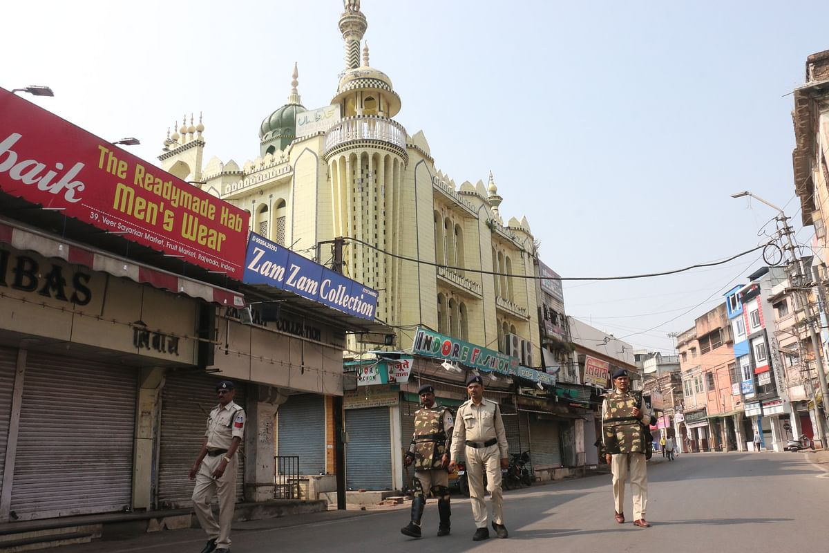 Indore: City stays calm on Ayodhya verdict day