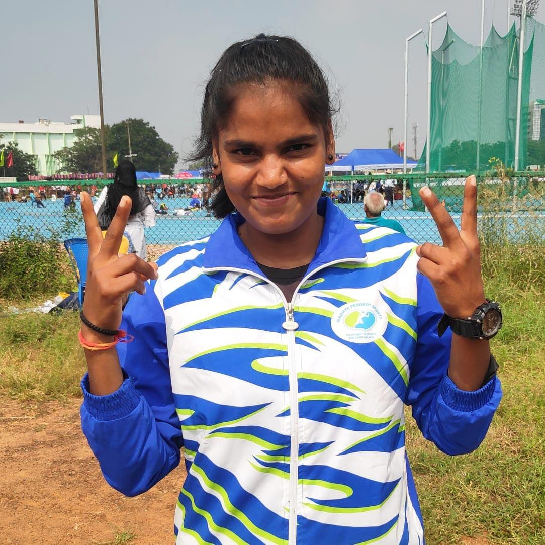 Bhopal: Babita bags silver at Junior Athletics C'ship