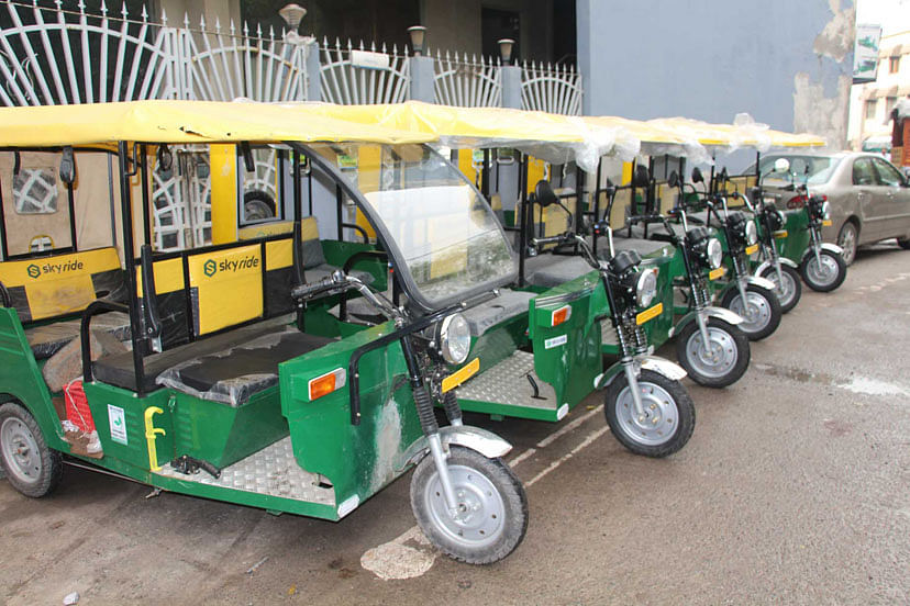 Indore: E-rickshaws to provide I-bus connectivity