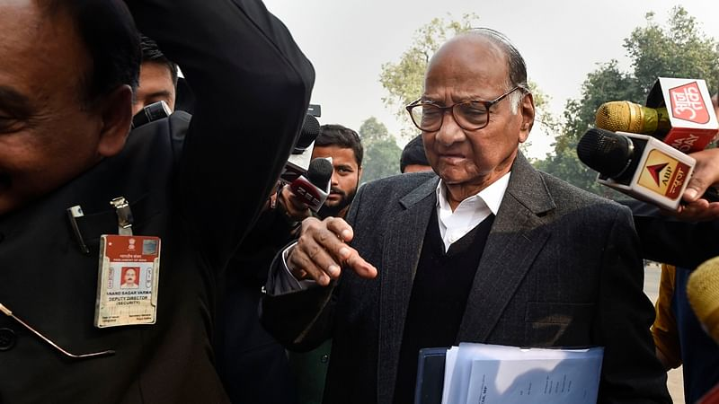 Sharad Pawar outwitted Chanakya of politics: NCP takes a jibe at BJP