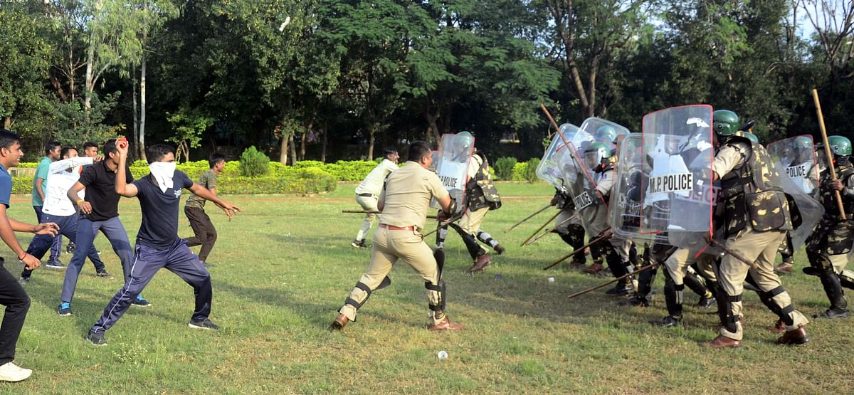 Bhopal: Security beefed up in state capital