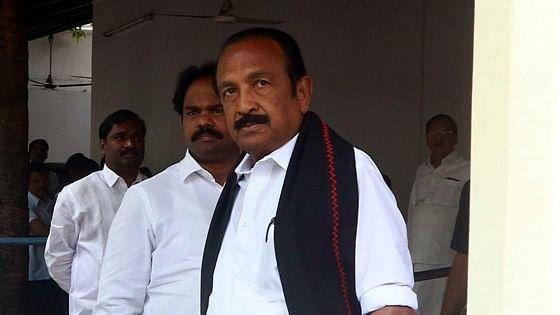 MDMK leader Vaiko detained for protesting against Sri Lankan President visit