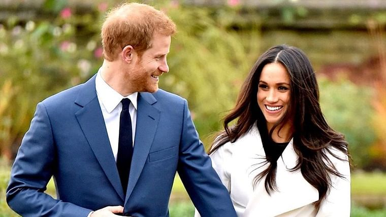 Unseen pictures of Meghan Markle and Prince Harry to mark engagement anniversary