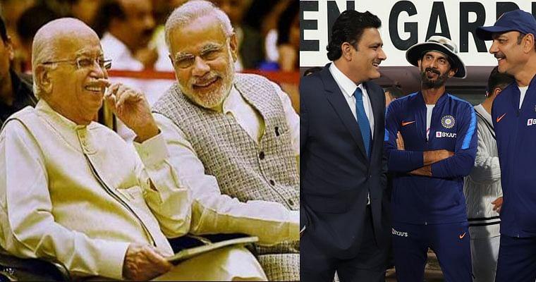 Twitterati compare Kumble-Shastri relationship to Modi-Advani