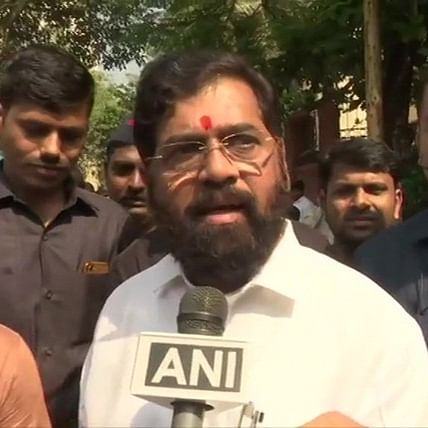 Ram temple not political issue, but matter of pride: Maharashtra Minister Eknath Shinde