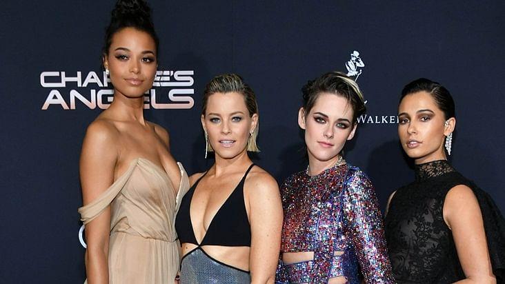 Kristen Stewart, Naomi Scott and Ella Balinska dazzle at 'Charlie's Angels' premiere