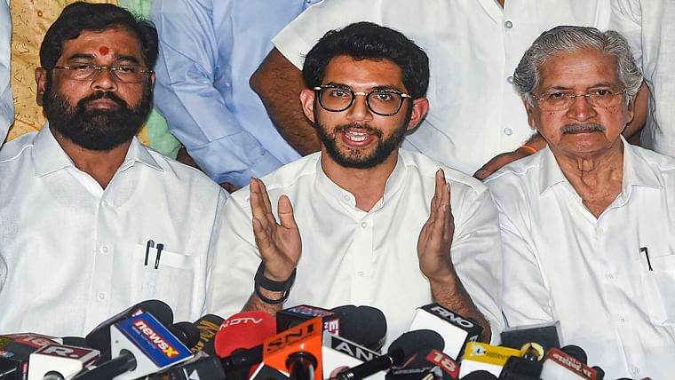 Worli MLA Aaditya Thackeray starts working, holds review meeting with Sena corporators and BMC workers