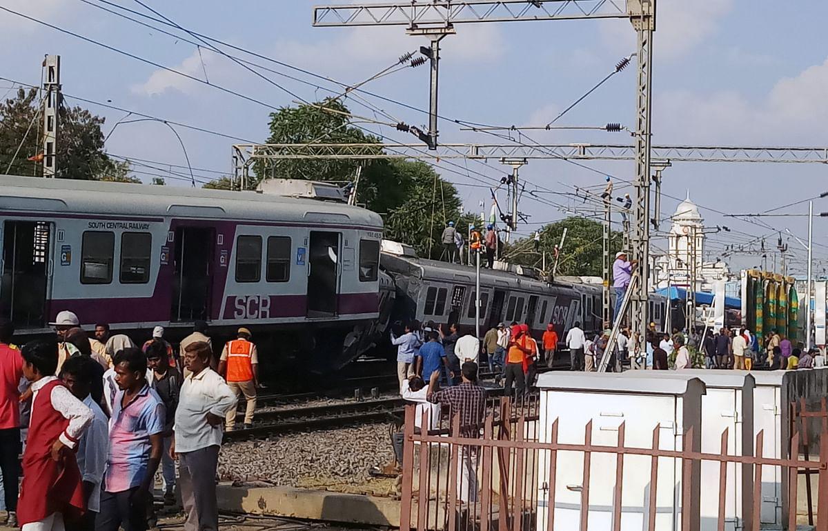 Hyderabad: MMTS train loco pilot passes away after cardiac arrest Hyderabad