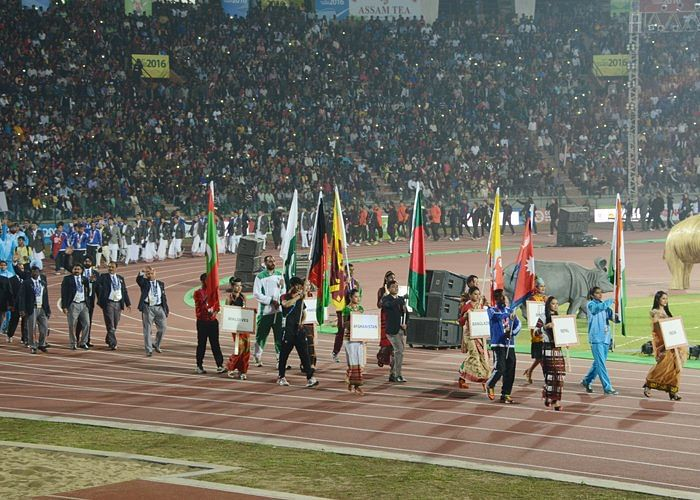 India's gold rush continues in South Asian Games