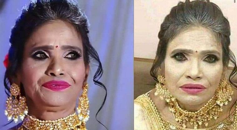 Ranu Mondal's make-up artist trashes horrendous viral pic, calls it 'fake'