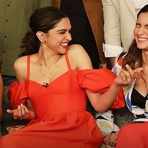 Deepika & Alia are one of us; watch as they fumble while pronouncing Joaquin Phoenix's name