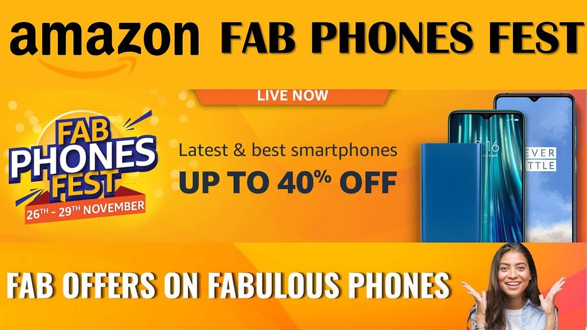Amazon Fab Phones Fest 2019 sale goes live with offers on iPhone XR, OnePlus 7T, Honor 20, and more