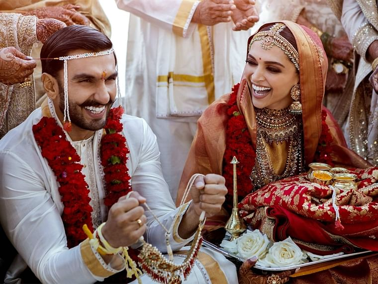 Deepika wears the same saree that her in-laws gifted as shagun on wedding day
