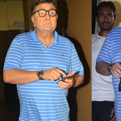 Baarish ho gayi phirse? Rishi Kapoor startled as Mumbai Rains return