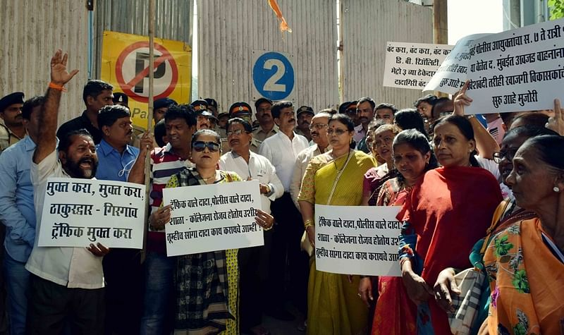 Metro-III work: Shiv Sainiks, locals go on rampage in Girgaum