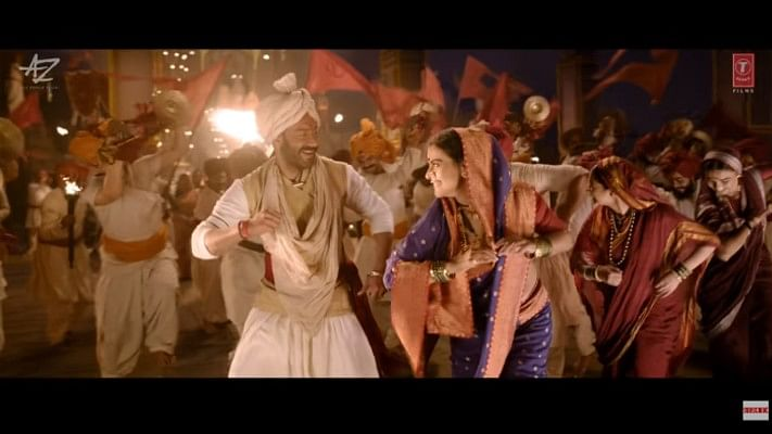Ajay Devgn felt at home working with Kajol in 'Tanhaji'