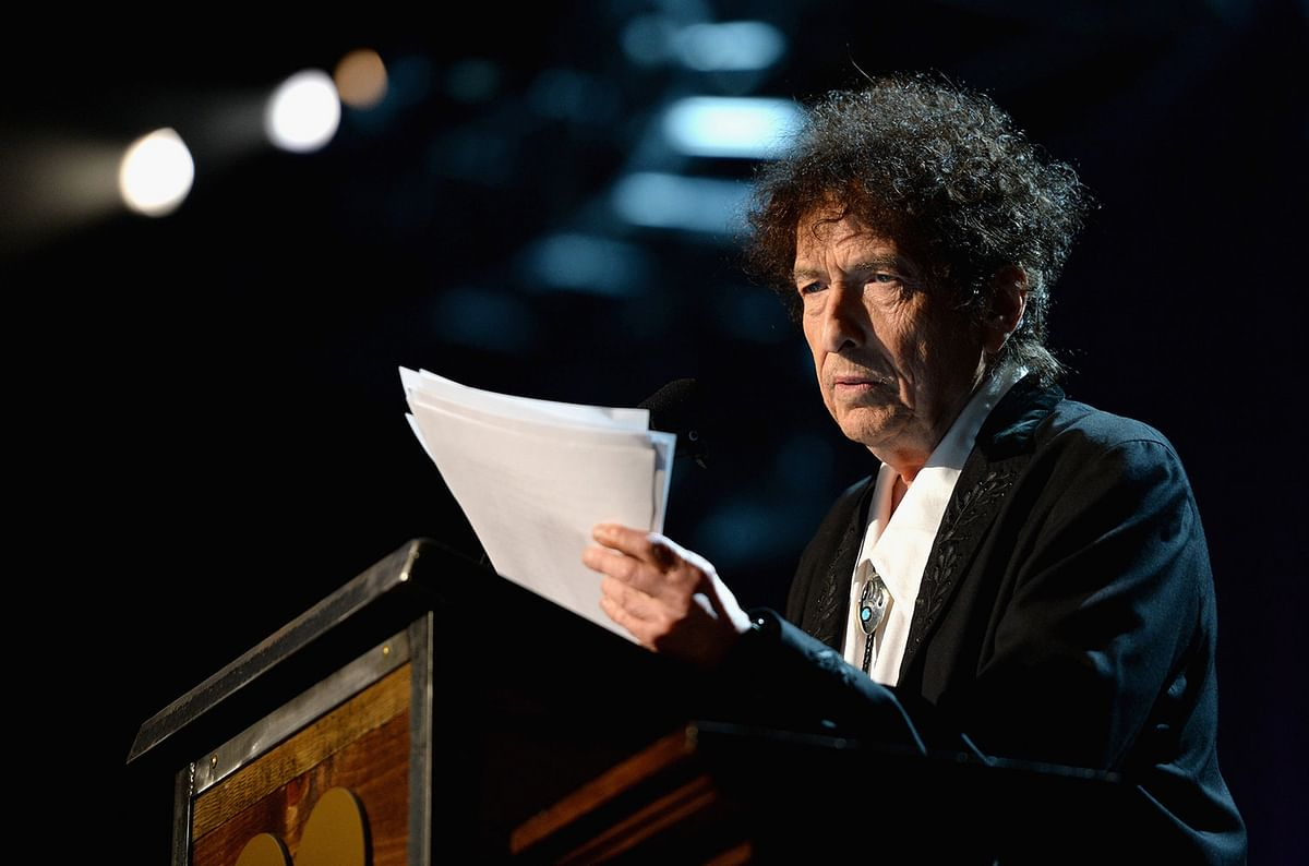 "The Swedish Academy awarded Dylan the 2016 Nobel Prize in Literature ""for having created new poetic expressions within the great American song tradition."""